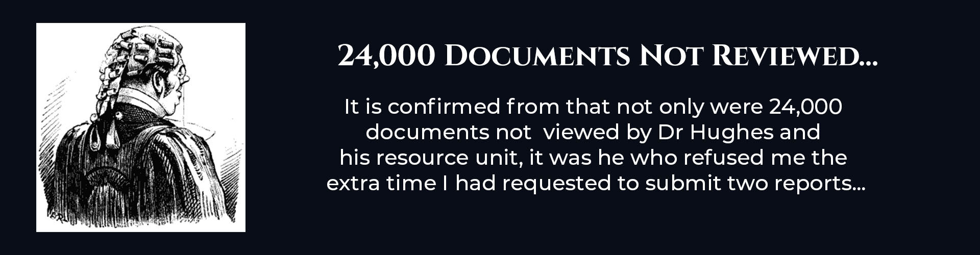 Absent Justice - 24000  documents not  viewed