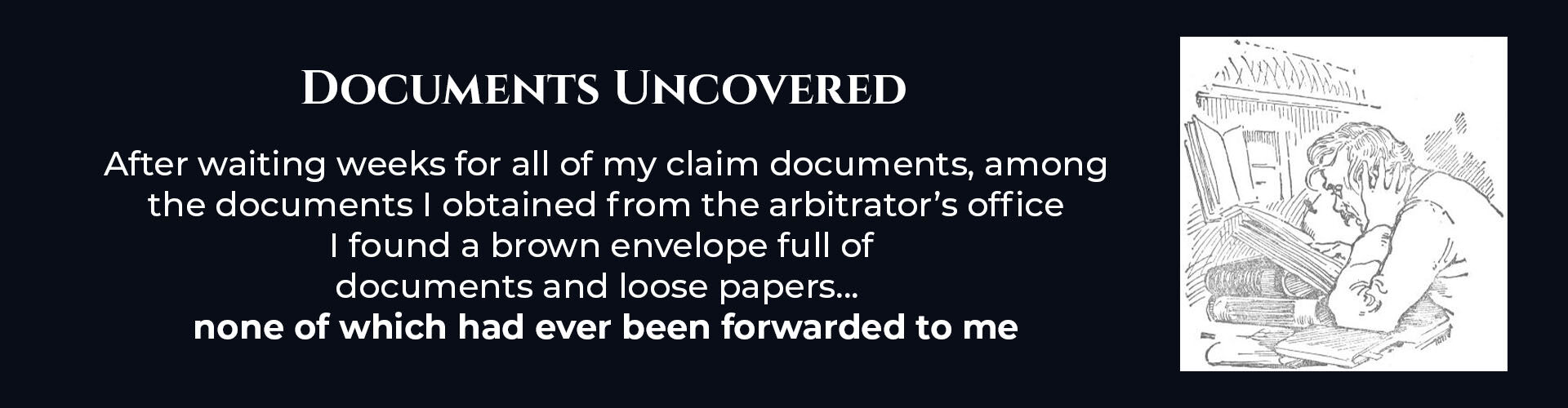 Absent Justice - Documents Uncovered