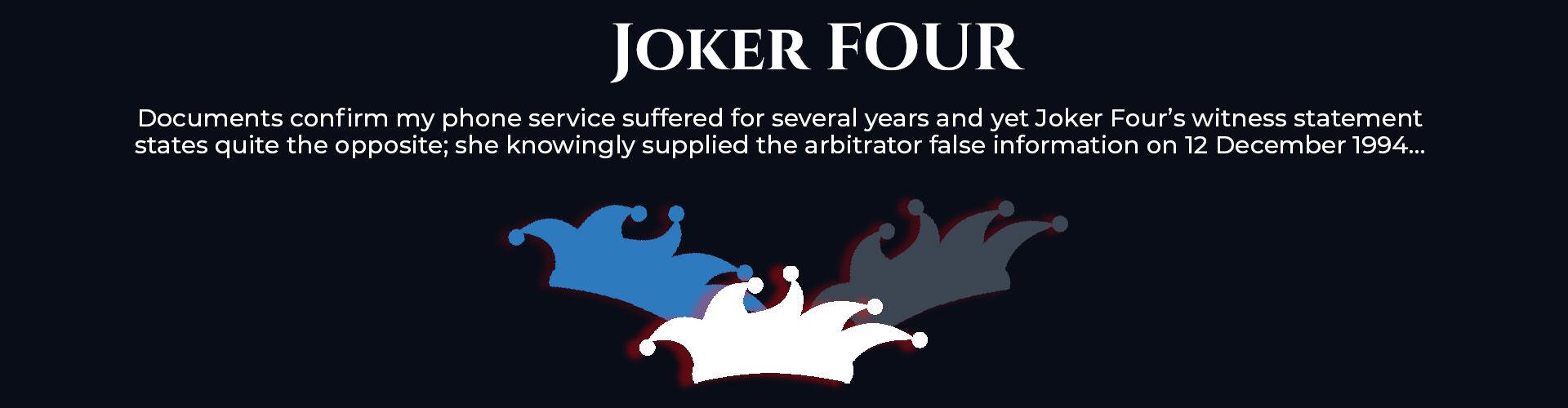 Absent Justice - Joker Four