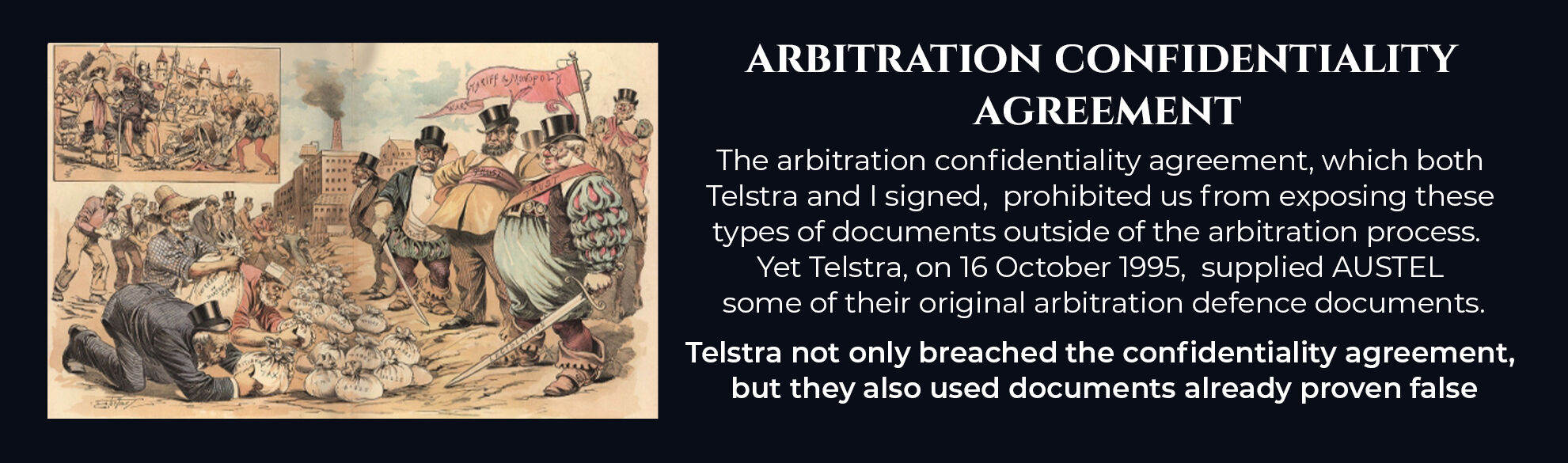 Absent Justice - Arbitrator Confidentiality Agreement