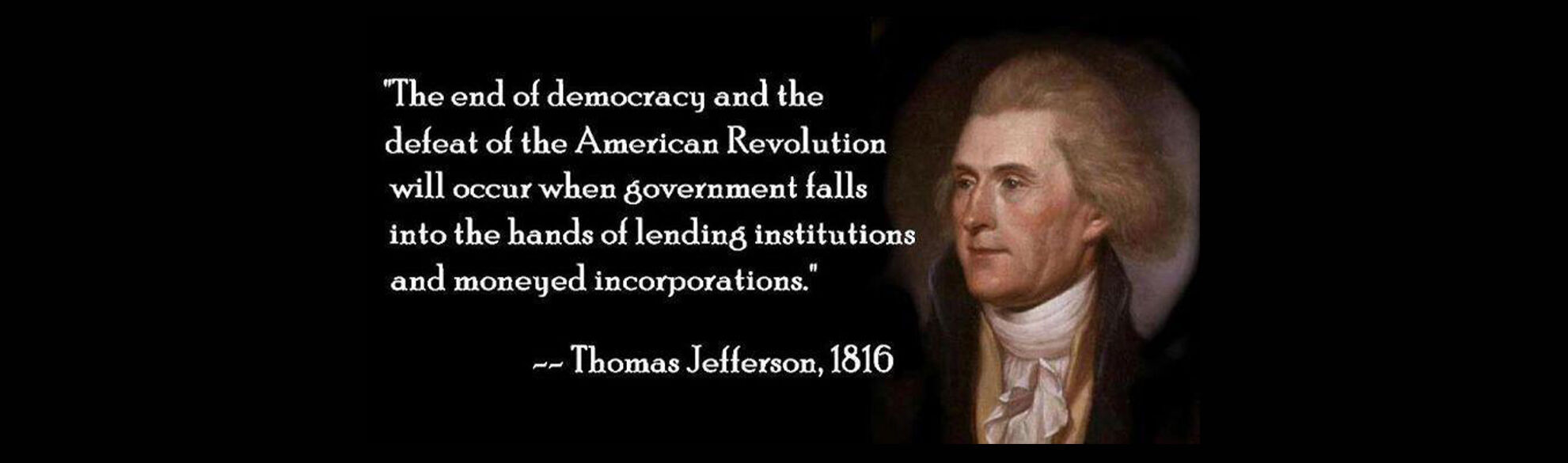 Absent Justice - Thomas Jefferson