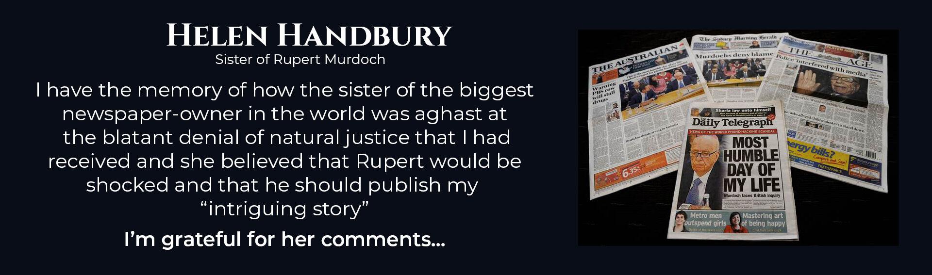 Absent Justice - Helen Handbury