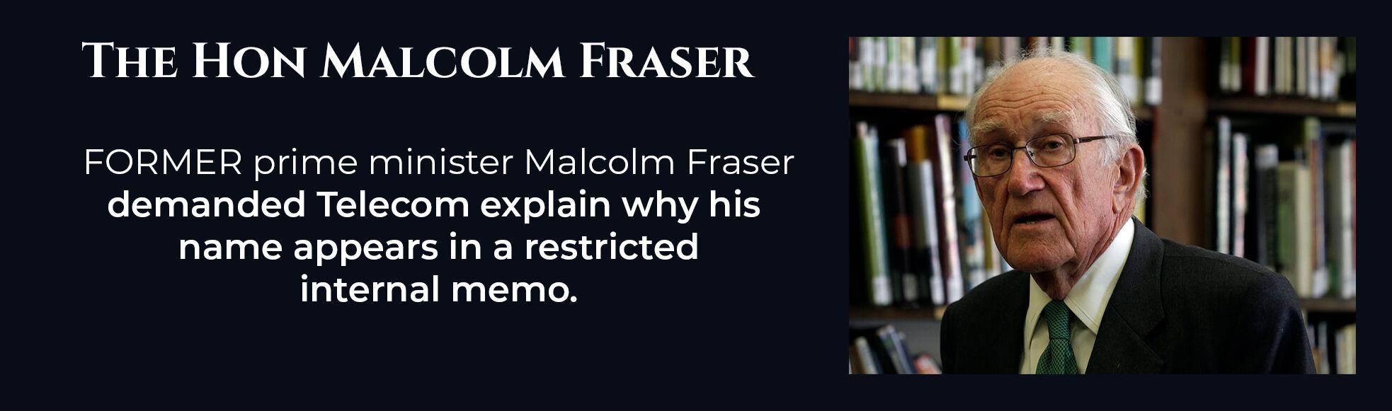 Absent Justice - Hon Malcolm Fraser