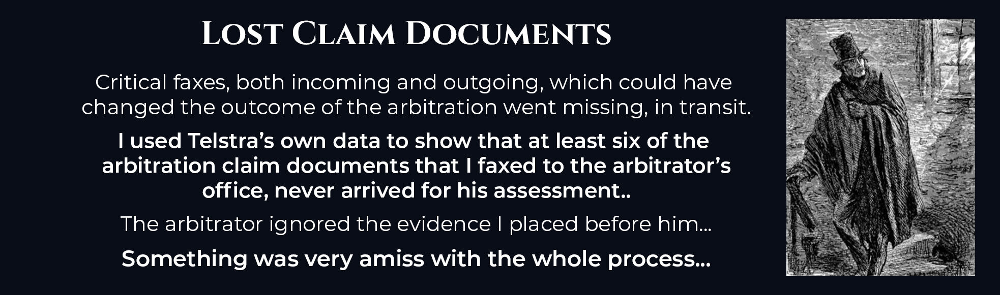Absent Justice - Lost Claim Documents