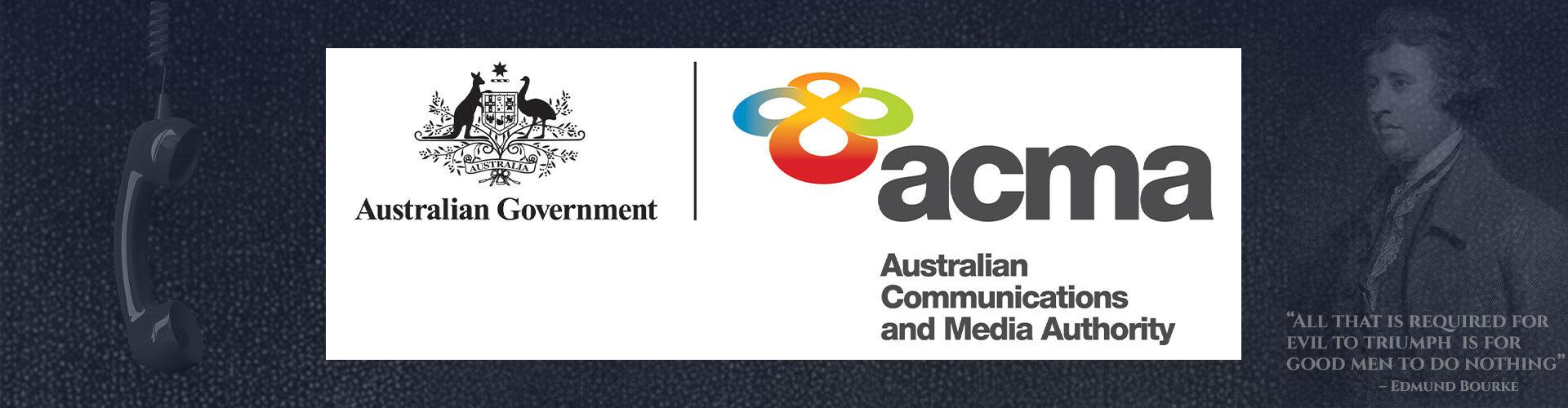 ACMA Australian Government