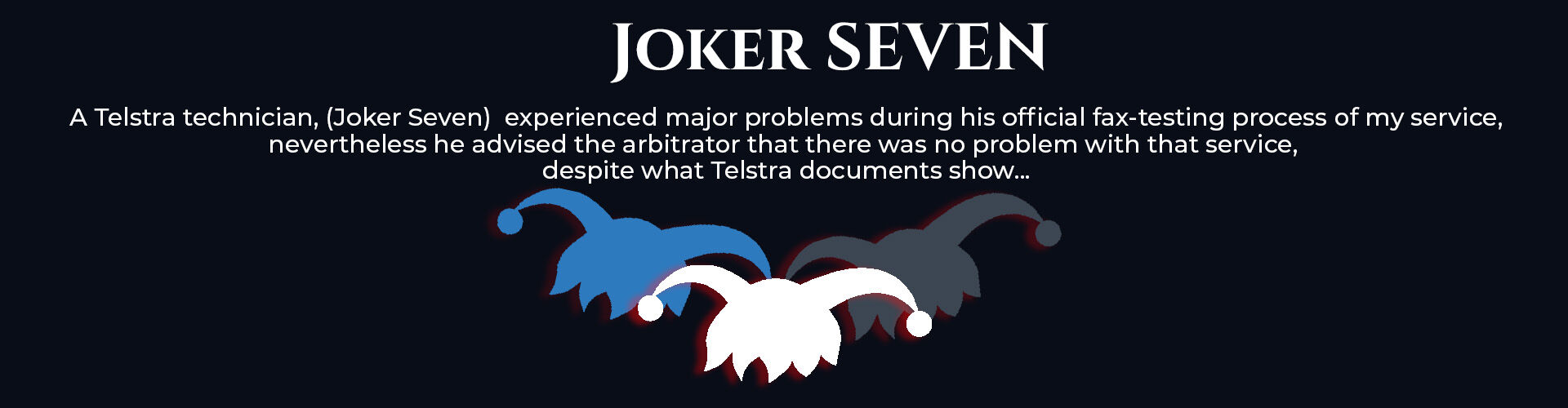 Absent Justice - My Story - Joker Seven