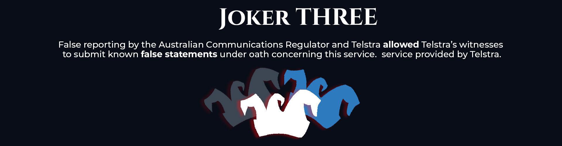 Absent Justice - My Story - Joker Three
