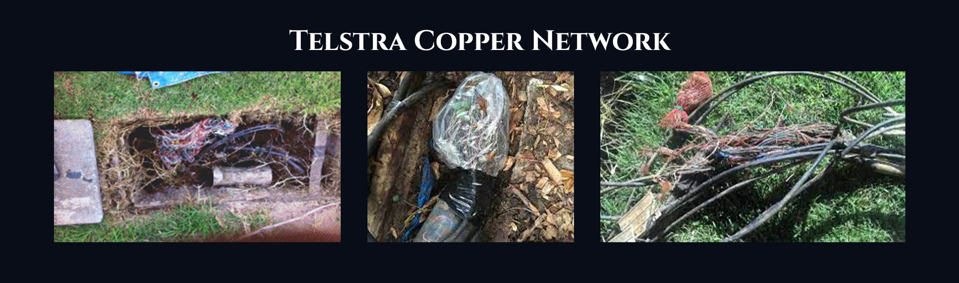 Absent Justice - Telstra Copper Network